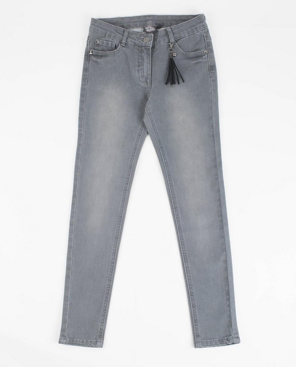 Graue Jeans mit Nieten - Ghost Rockers - Ghost Rockers